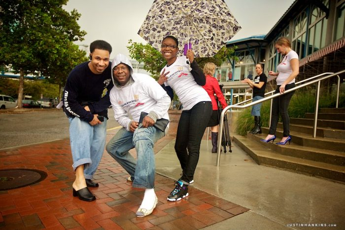 Walk a Mile In Her Shoes - Volunteer Photography by Justin Hankins