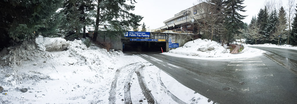 Overnight Parking in Whistler - Conference Centre