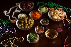 Muffuletta Olive Salad Preparations