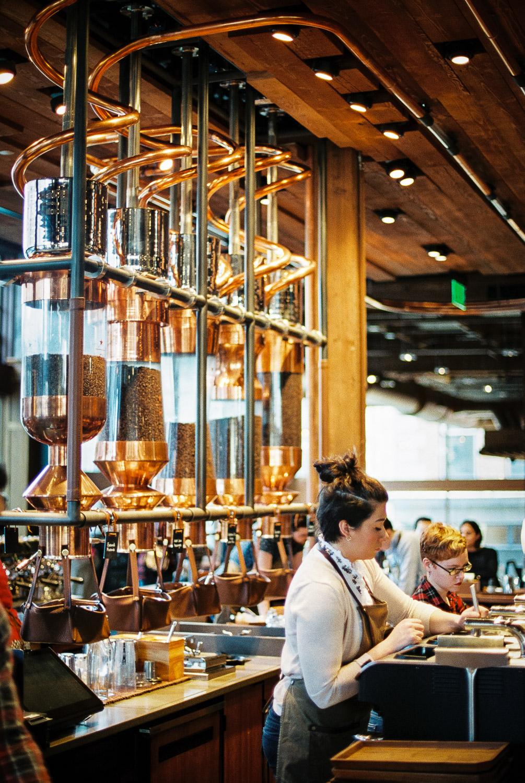 Visiting Seattle S Starbucks Reserve Roastery Tasting Room