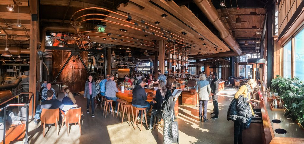 Seattle Reserve Roastery and Tasting Room
