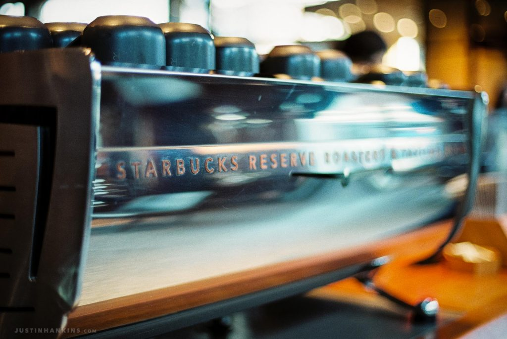 Visiting the Starbucks Reserve Roastery & Tasting Room